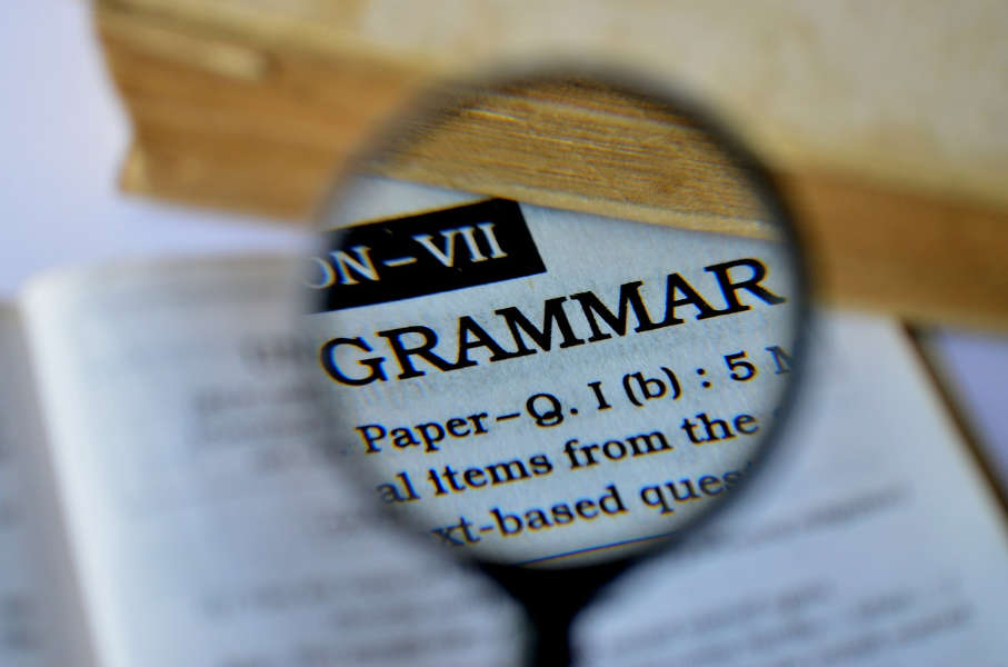 The grammar fallacy